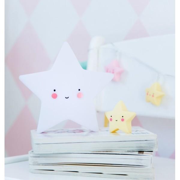 Star Επιτραπέζιο Φωτιστικό Νύχτας 15x15cm