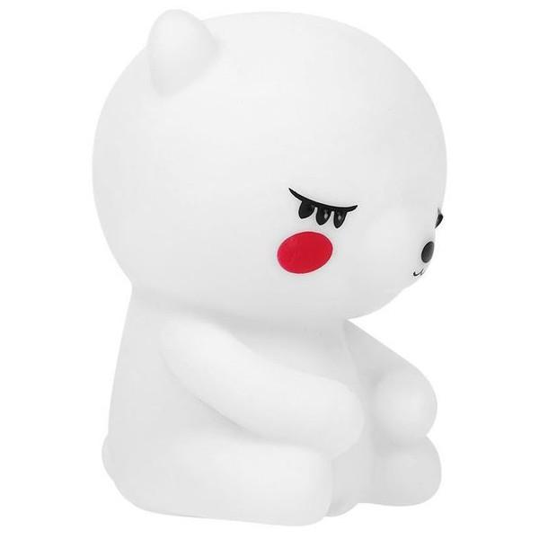 Little Bear Επιτραπέζιο Φωτιστικό Νύχτας Λευκό 9x7x12cm