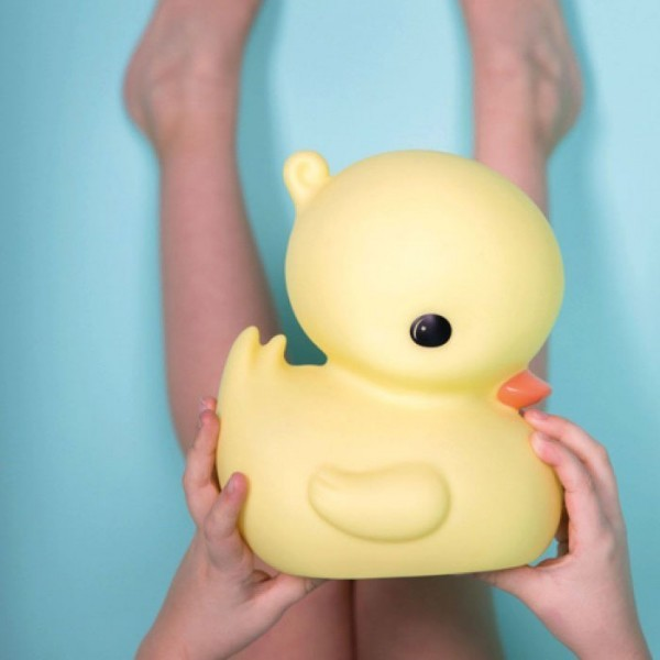 Duck Επιτραπέζιο Φωτιστικό Νύχτας Κίτρινο 12x12x12cm