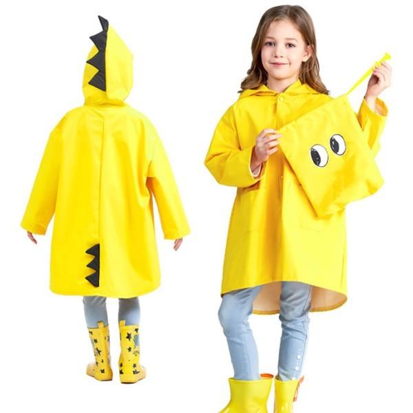 Draco Αδιάβροχο Παιδικό Κίτρινο 62cm