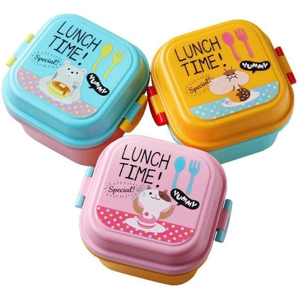 Kiddo Δοχείο Φαγητού Ροζ Γατούλα Πλαστικό 720ml 14x12,3x12,3cm