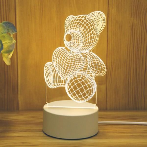 Bear Επιτραπέζιο Φωτιστικό 20x17,5cm