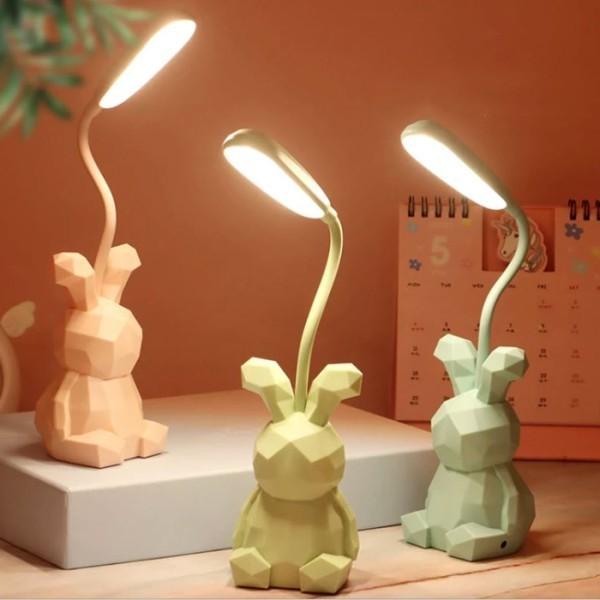 Geometric Bunny Φωτιστικό Γραφείου 6,5x6,5x28cm
