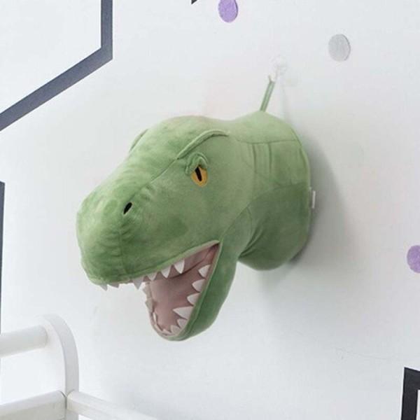 Velvet Διακοσμητικό Τοίχου Για Παιδικό Δωμάτιο Δεινόσαυρος 29x30x20cm
