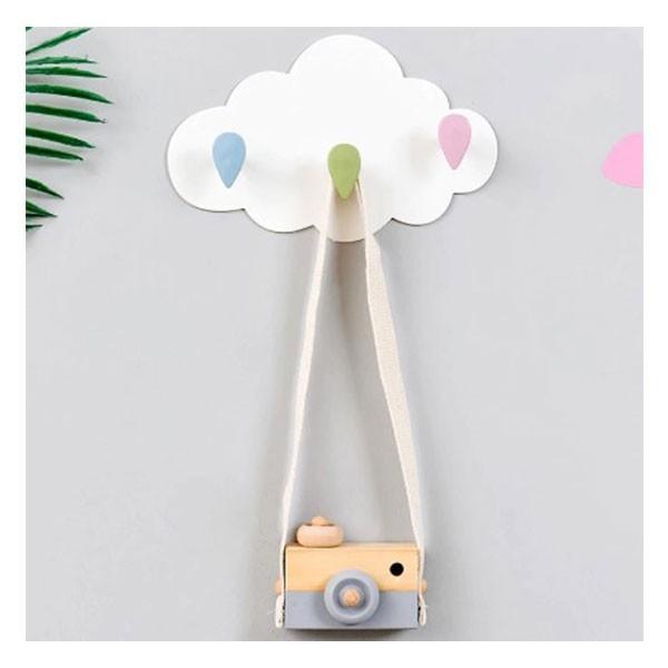 Cloud Παιδική Κρεμάστρα 3 Θέσεων