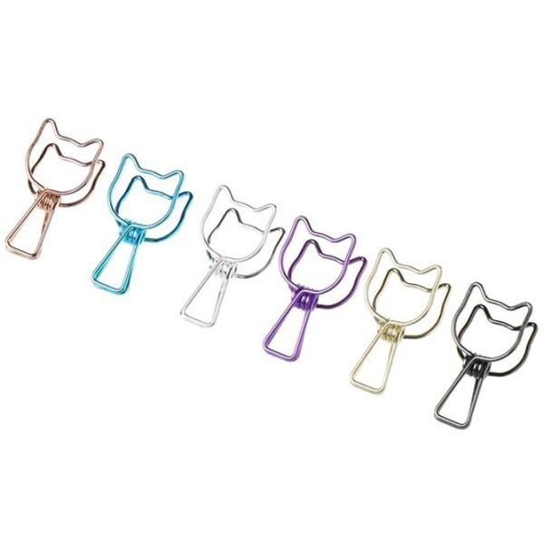 Chat Κλιπ Σετ 6 Τεμαχίων Γάτα 0,6x1,75cm