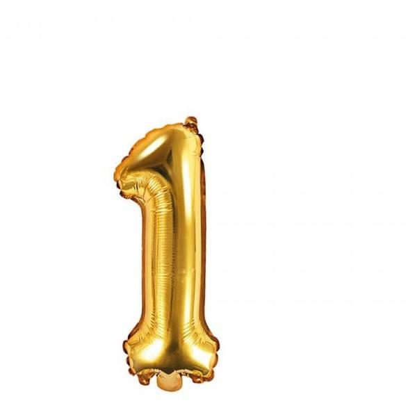 Numbers Μπαλόνι Αριθμός Νο1 Χρυσό