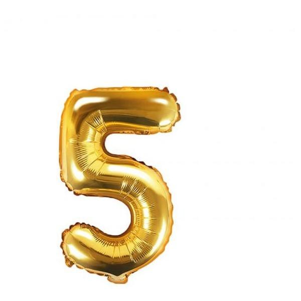 Numbers Μπαλόνι Αριθμός Νο5 Χρυσό