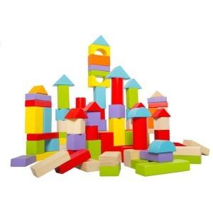 Castle Δημιουργικό Παιχνίδι Ξύλινο 100 Τεμάχια