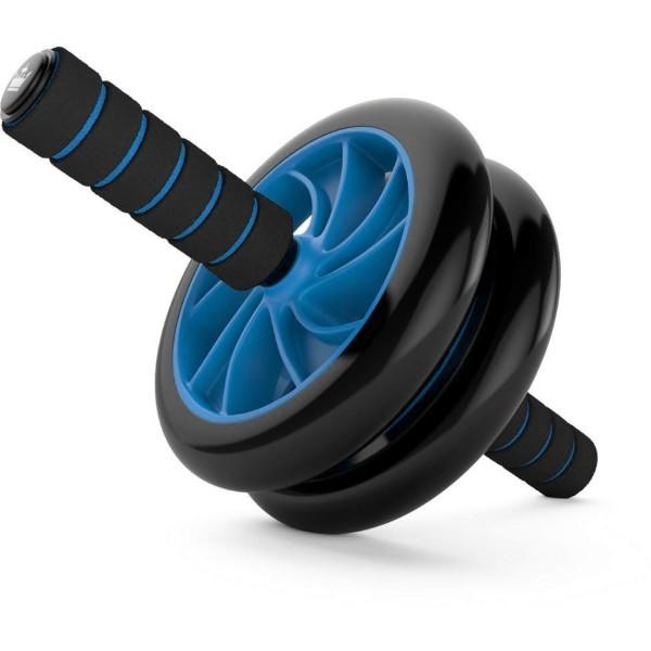 Fit Six Pack Ροδα Όργανο Εκγύμνασης Μαύρο Μπλε