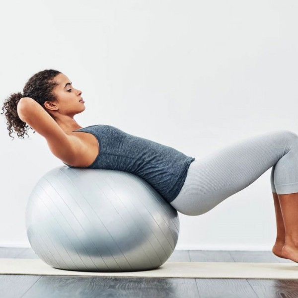 Bolla Μπάλα Γυμναστικής PVC 65cm Με Φουσκωτήρα