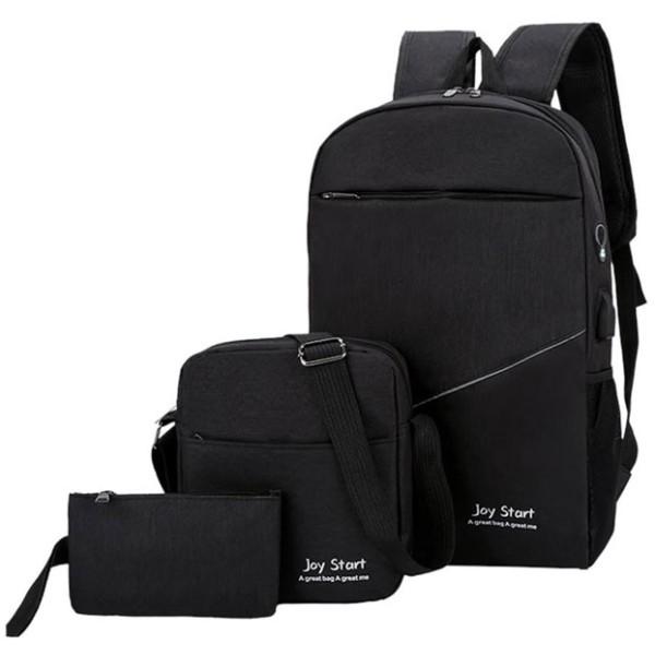 Intel Τσάντα Για Laptop Γκρι Σετ 3 Τεμαχίων 44x29x14cm