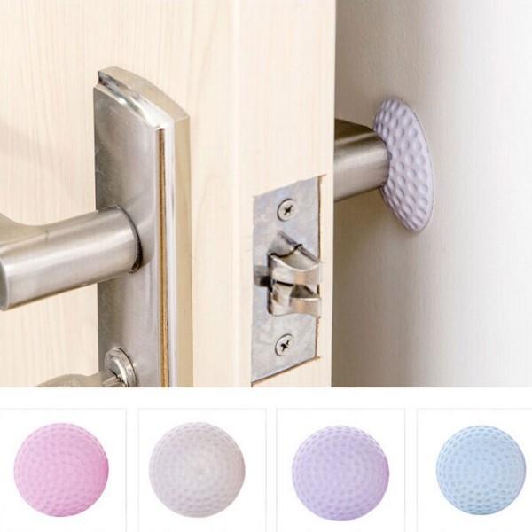 Protect Προστατευτικό Τοίχου ή Πόρτας Σιλικόνη Ροζ 5x1cm