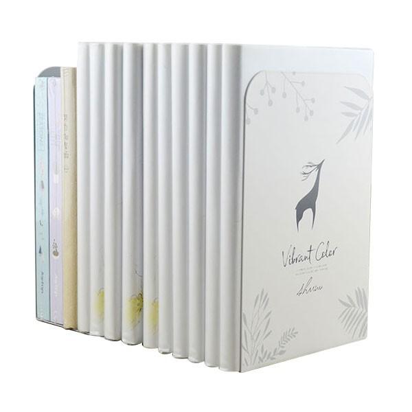 Life Βιβλιοστάτης Ελάφι Λευκό Σετ 2 Τεμαχίων