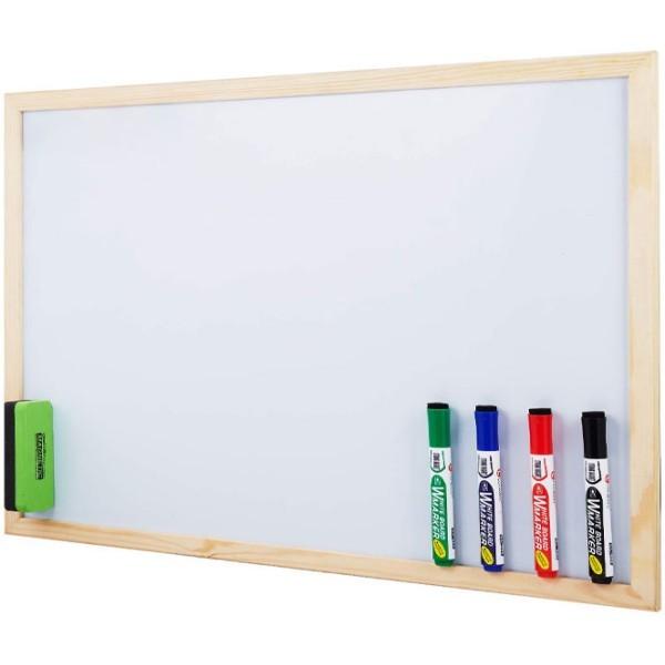 White Πίνακας Μαρκαδόρου 40x60cm