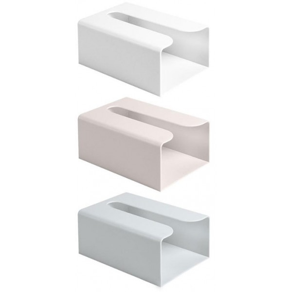 Papel Κουτί Αποθήκευσης Χαρτιού Λευκό