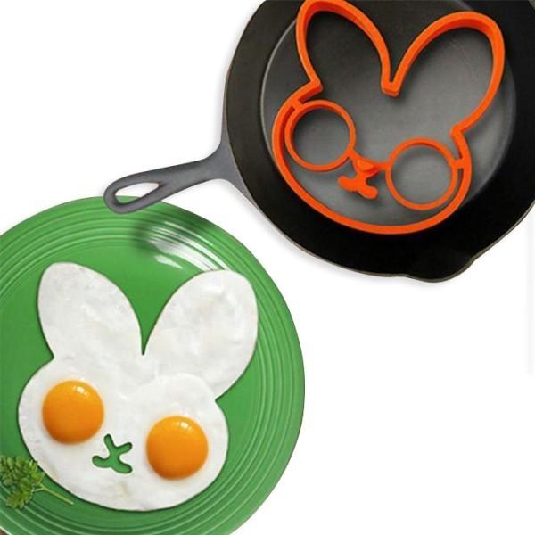 Happy Καλούπι Για Αυγά Λαγός Πορτοκαλί