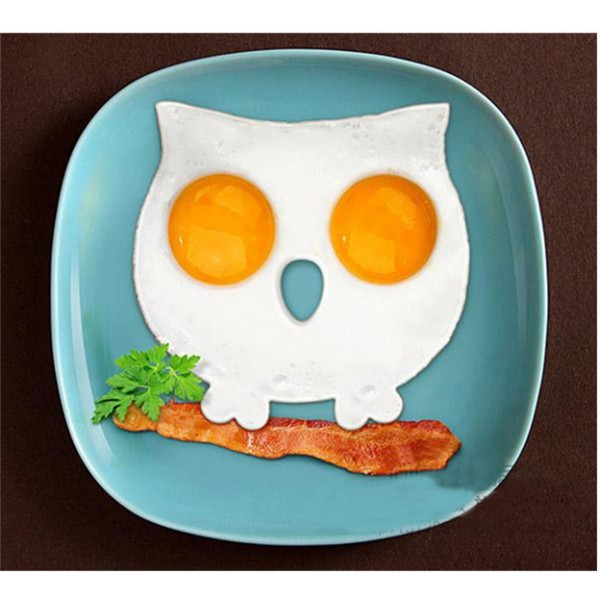 Happy Καλούπι Για Αυγά Κουκουβάγια Μωβ