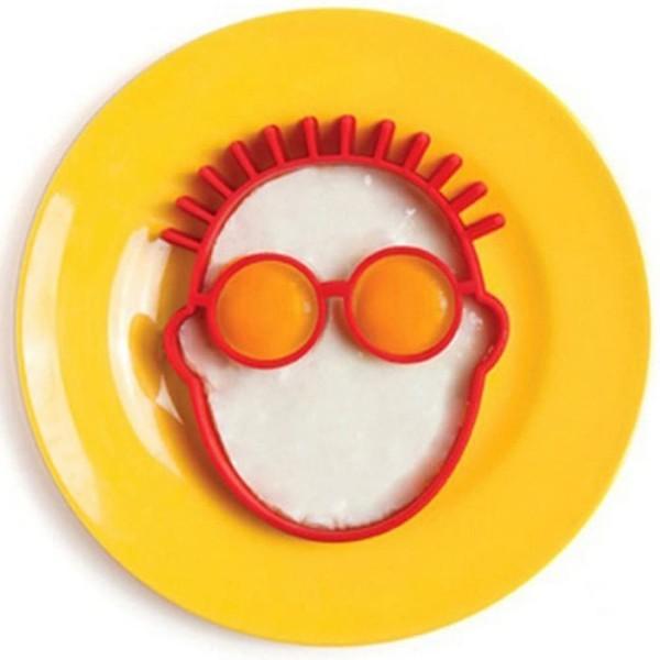 Happy Καλούπι Για Αυγά Άνθρωπος Κόκκινο