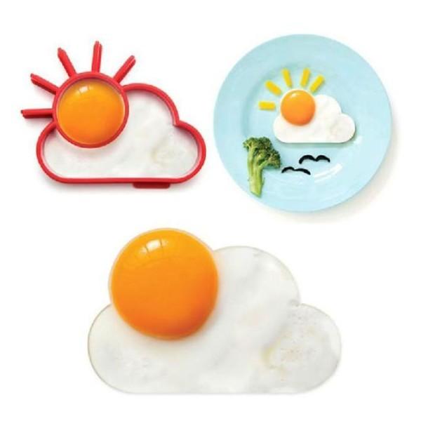 Happy Καλούπι Για Αυγά Σύννεφο Κόκκινο