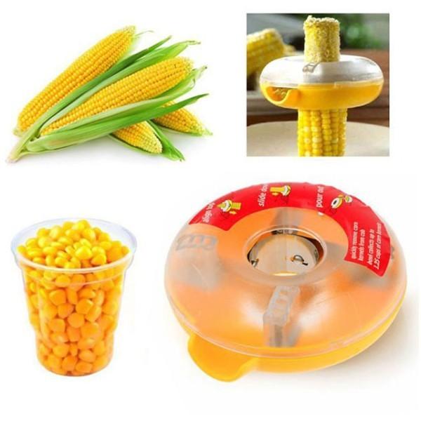 Circle Αποφλοιωτής Καλαμποκιού Πλαστικός Κίτρινος