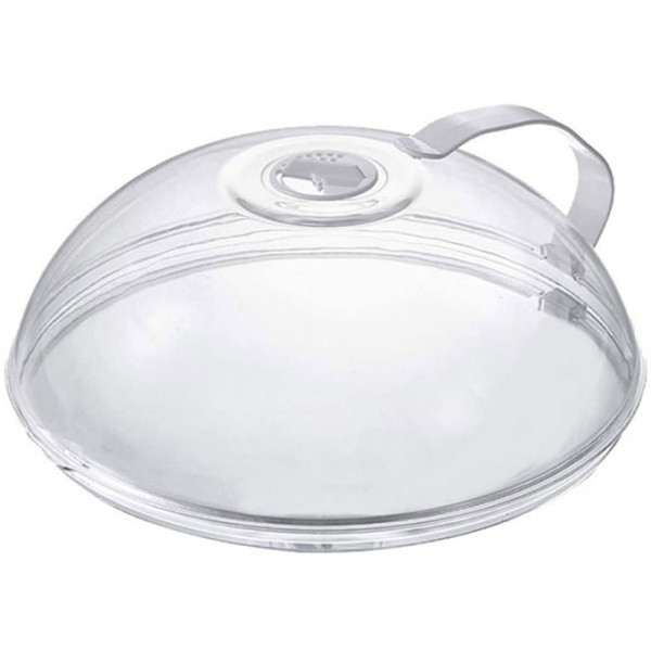 Dome Κάλλυμα Φαγητού Διάφανο Για Φούρνο Μικροκυμμάτων