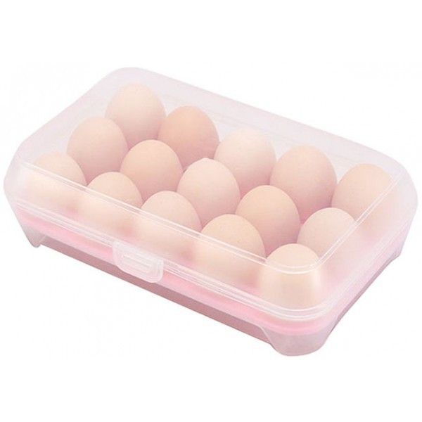 Oeuf Πλαστική Θήκη Για Αυγά Γαλάζιο 15 Θέσεων
