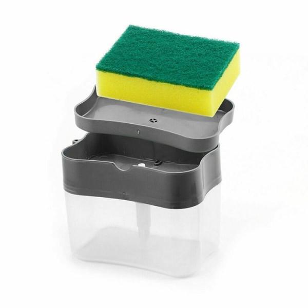 Spunga Dispenser Υγρού Πιάτων 13,5x8,5x11cm