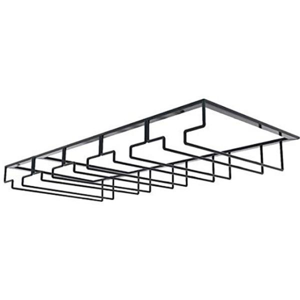 Shelf Βάση Για Κρεμαστά Γυάλινα Ποτήρια Λευκή 23,5x7x41,5cm