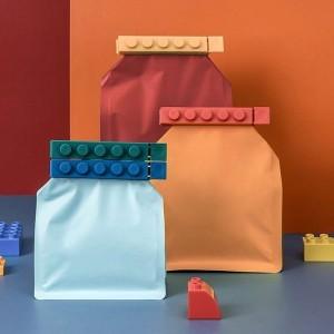 Cube Κλιπ Αεροστεγούς Κλεισίματος Σετ 4 Τεμαχίων 12x1.8x1.7cm