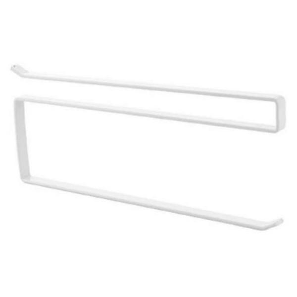 Rol Βάση Στήριξης Χαρτιού Κουζίνας Λευκή 26x1,2x10,8cm