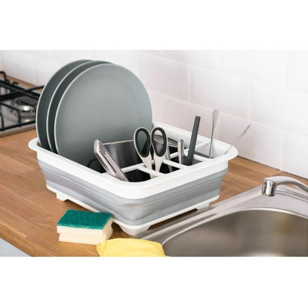 Dishes Πτυσσόμενη Πιατοθήκη Πλαστική 36,5x31,5x13cm