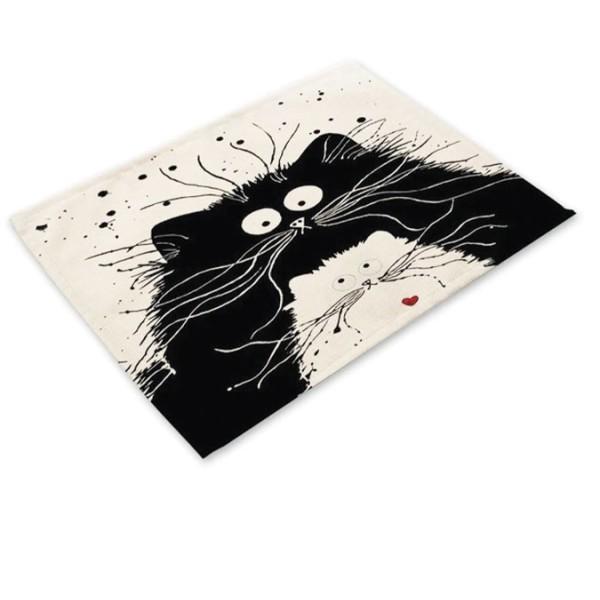 Carino Σουπλά Υφασμάτινο Ήρεμη Γάτα 42x32cm