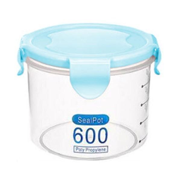 Salva Δοχείο Αποθήκευσης Πλαστικό Γαλάζιο 600ml