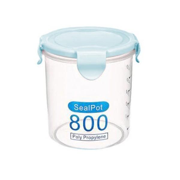 Salva Δοχείο Αποθήκευσης Πλαστικό Γαλάζιο 800ml