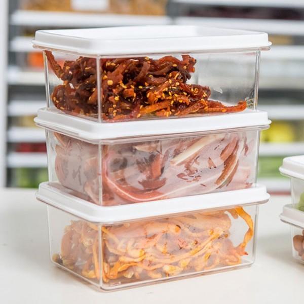 Row Δοχείο Αποθήκευσης Τροφίμων Πλαστικό Διάφανο