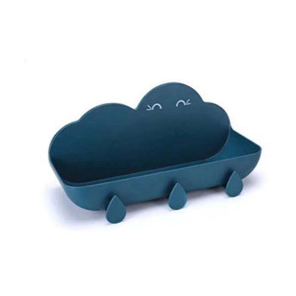 Nube Κρεμάστρα Μπάνιου Γαλάζια 30x14x11,5cm