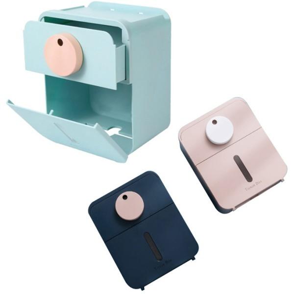 Smart Κουτί Αποθήκευσης Μπάνιου Γαλάζιο